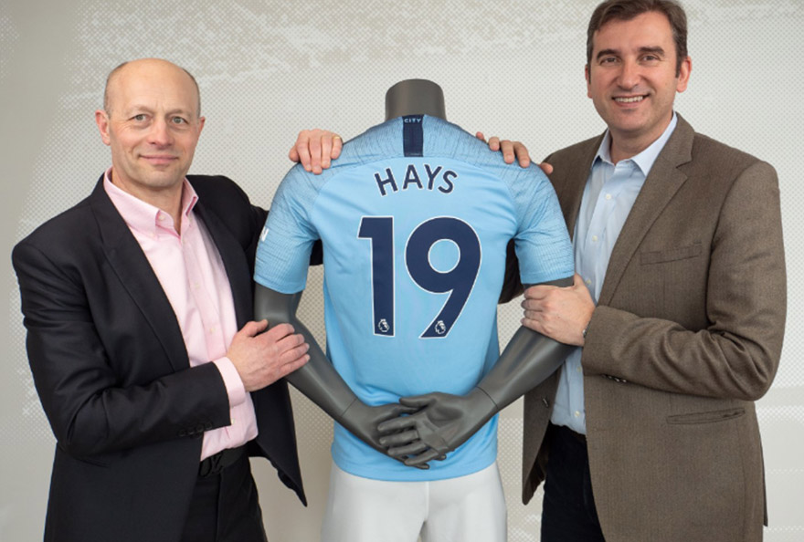 Hays and Manchester City Sponsoring