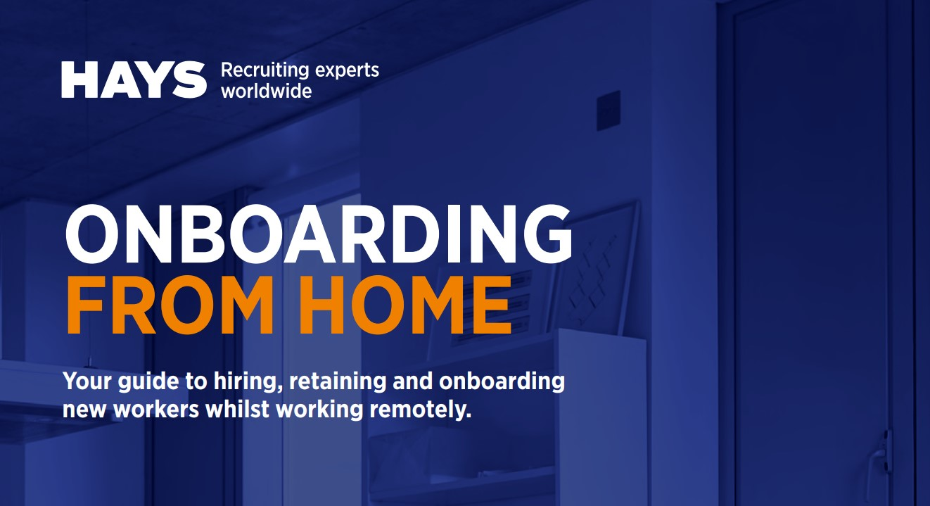 Onboarding from home